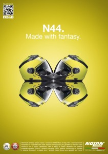 Nolan N44 Yellow marketing image