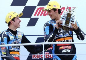 Spidi pilots Rims and Marquez on the top two steps of Moto3 podium!